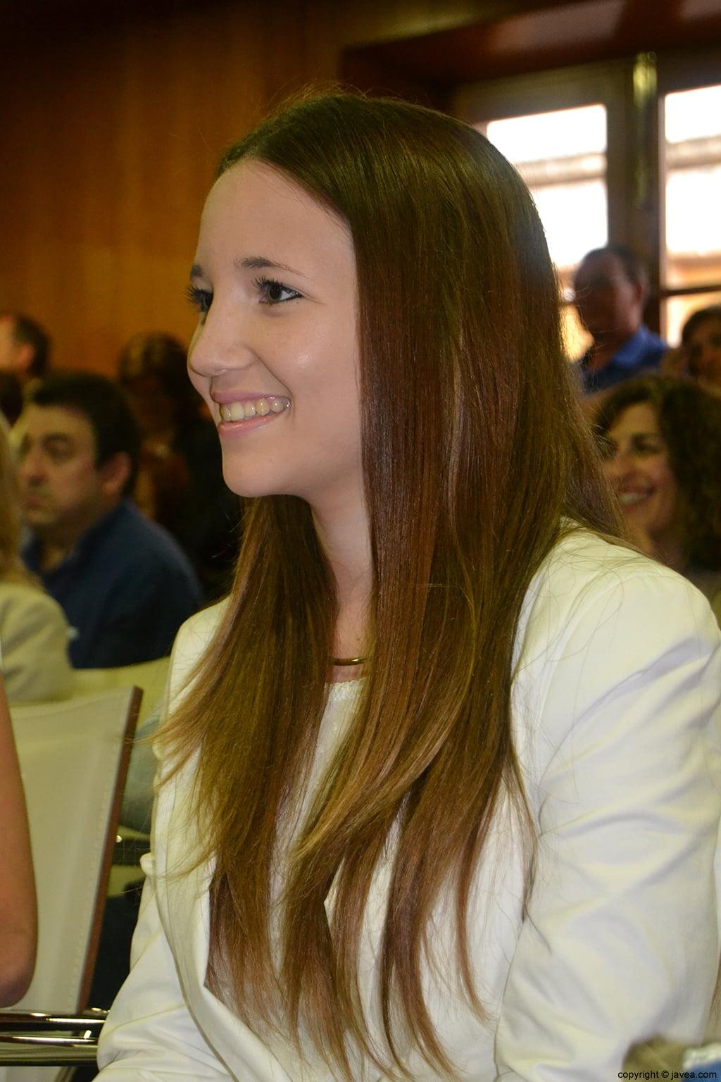 Berta Lucas López, segunda dama de honor de les Fogueres de Sant Joan 2014 de Xàbia