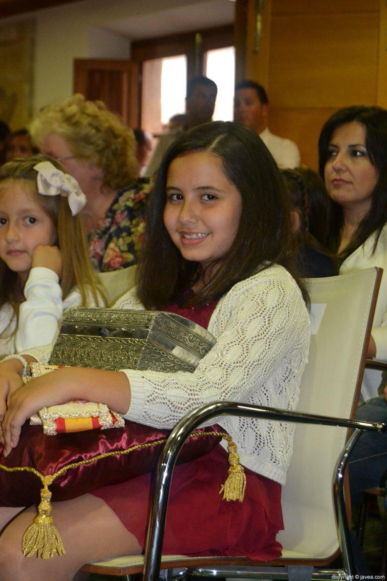 Claudia Sánchez Tachó, reina infantil de les Fogueres de Sant Joan 2014 de Xàbia