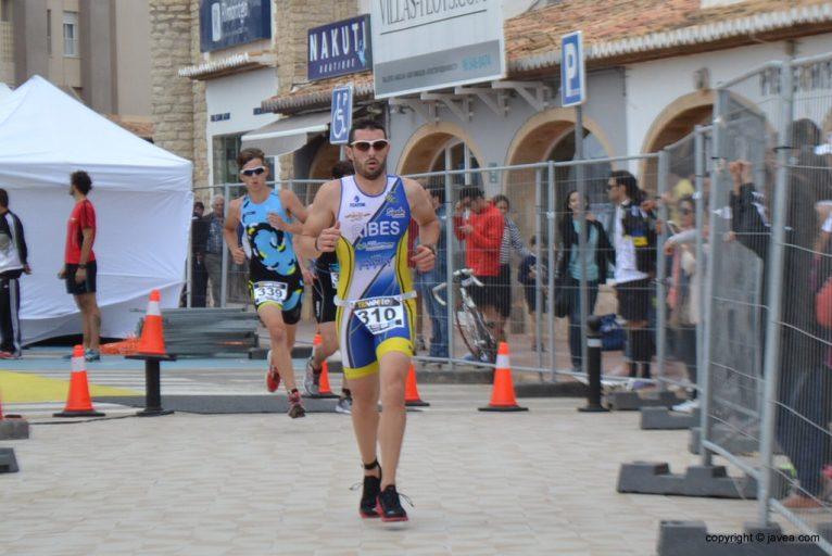 David Ribes corriendo segundo segmento