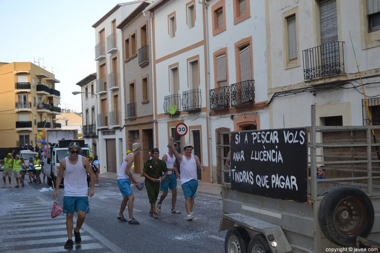 Desfile de Penyes San Juan Jávea