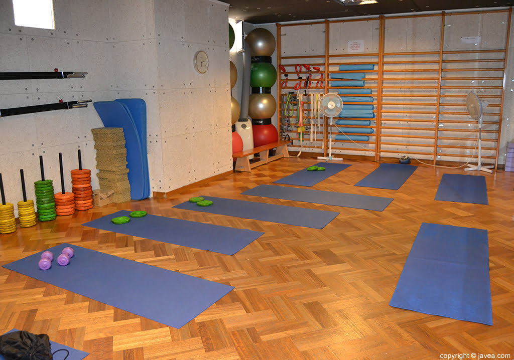 Profigura salle de gym j vea j x for Gimnasio denia