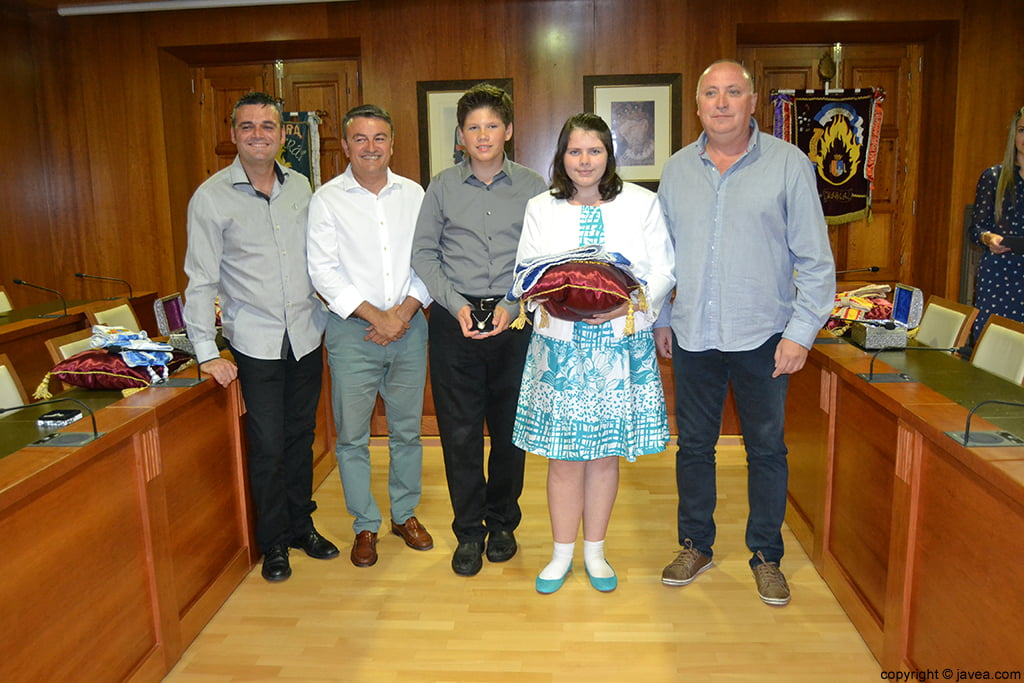 Jaime Escudero, José Chulvi, George Walker, Kylie Barnes y Juan Ortolá