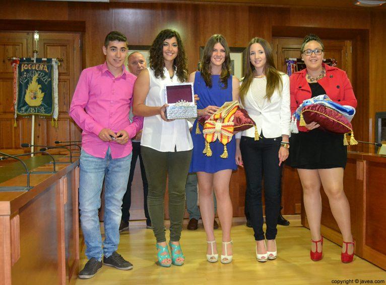 Jordi Pons Diego, Lucía Andrés Lacueva, Mar Bisquert Bover, Berta Lucas López y Tatiana Caballero Sánchez