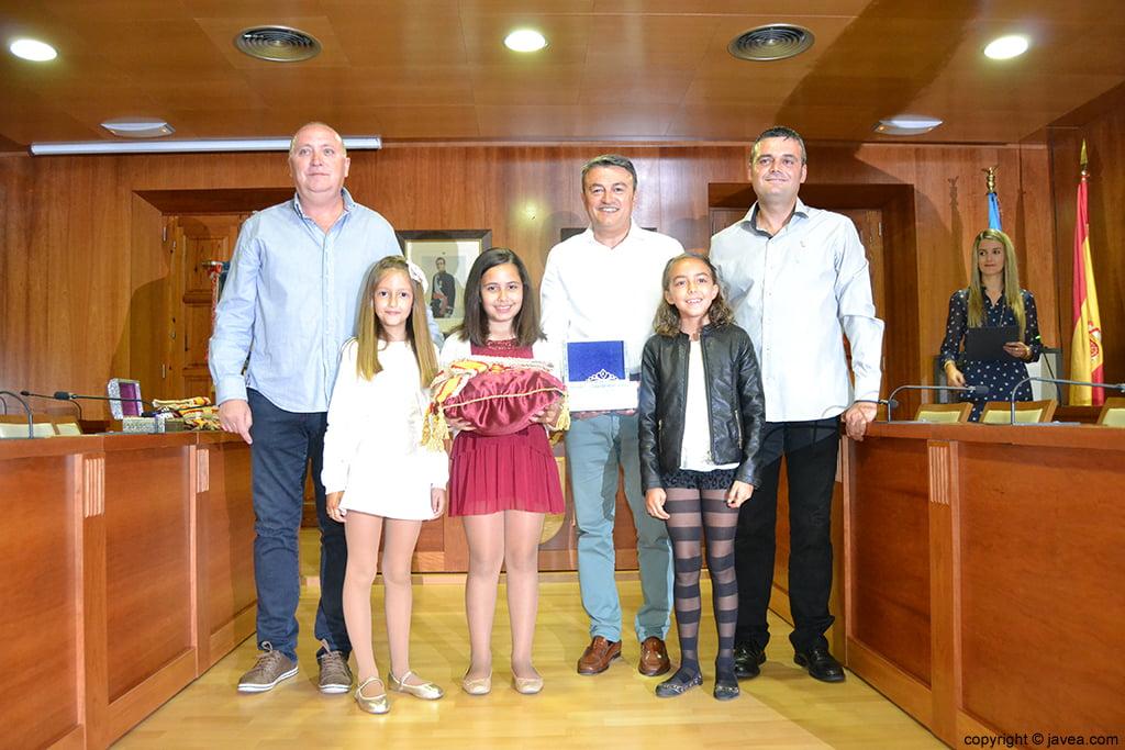 Juan Ortolá, Andrea López, Claudia Sánchez, José Chulvi, Nerea Mata y Jaime Escudero
