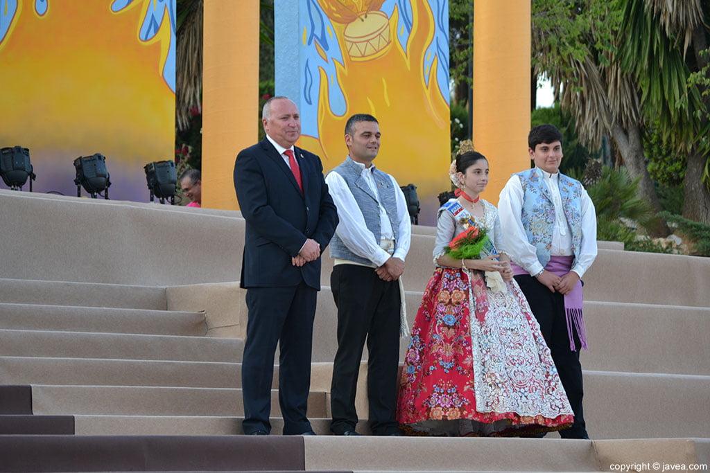 Juan Ortolá, Jaime Escudero, Laura Buigues y Vicente Ahuir