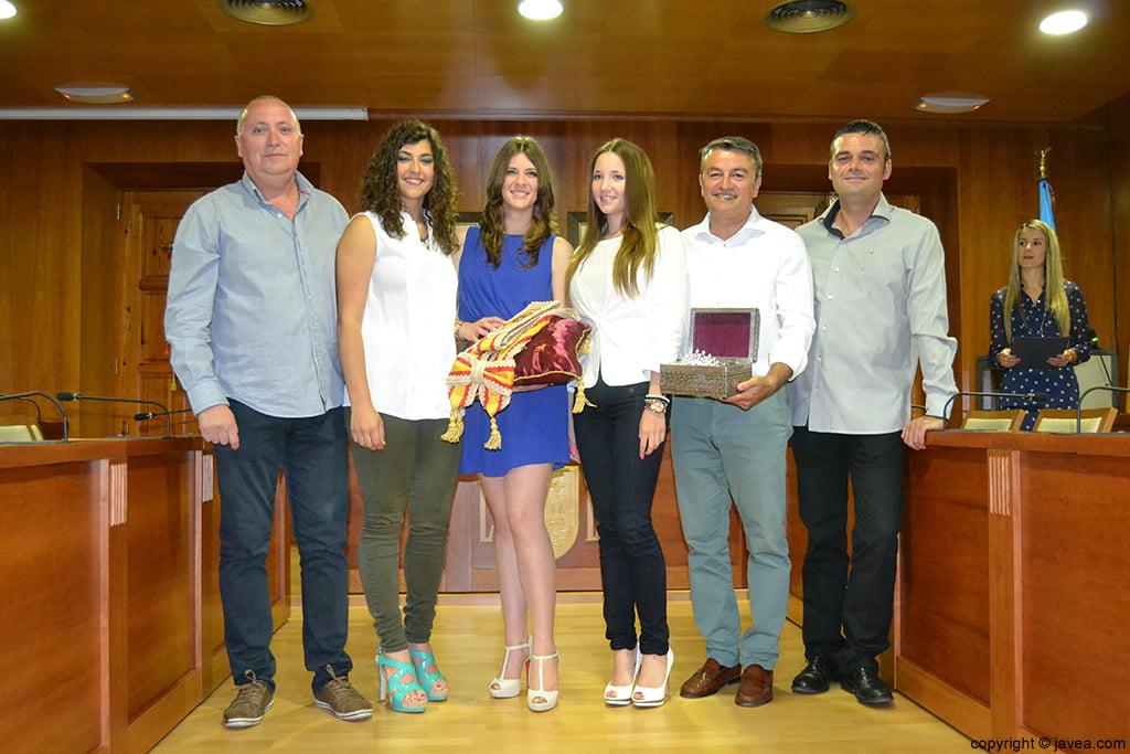 Juan Ortolá, Lucía Andrés, Mar Bisquert, Berta Lucas, José Chulvi y Jaime Escudero