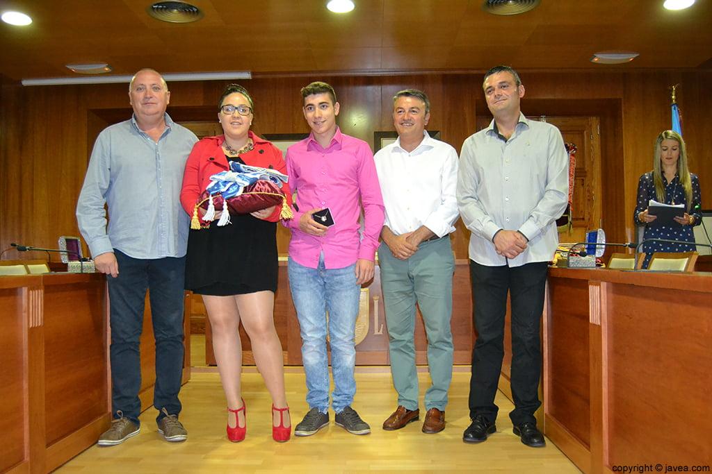 Juan Ortolá, Tatiana Caballero, Jordi Pons, José Chulvi y Jaime Escudero