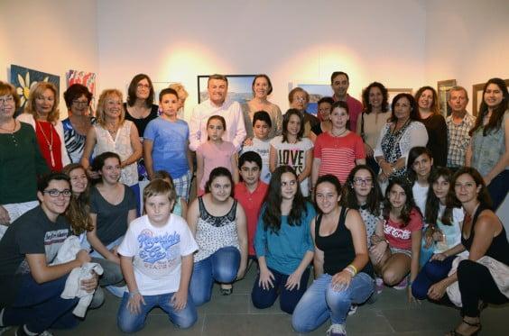 La Escola de Pintura Mediterránea ha inaugurado una exposición en Ca Lambert