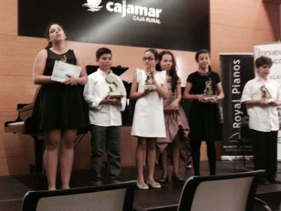 La pianista Marta Garijo García gana el primer premio en un certamen nacional en Málaga
