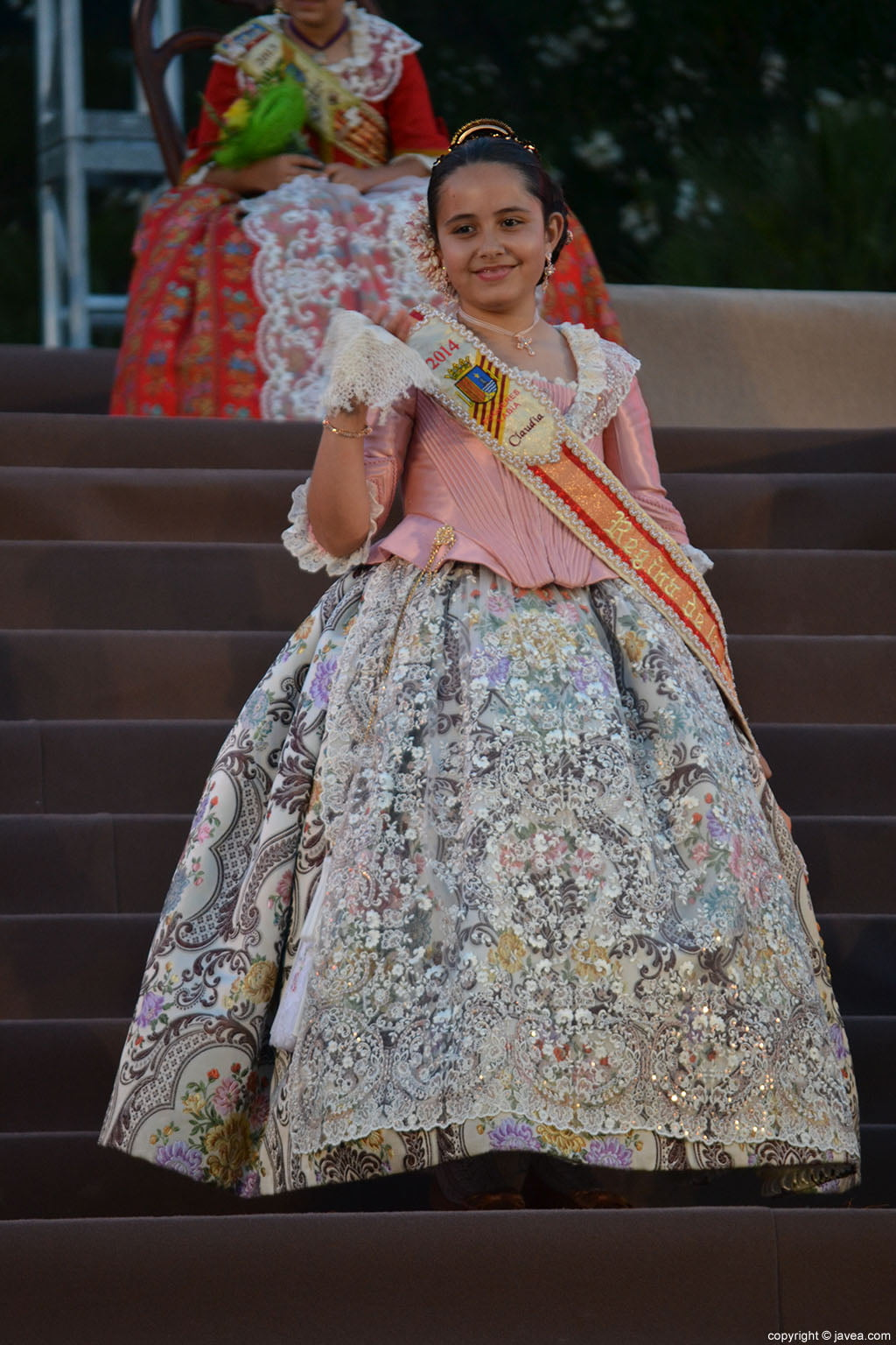 La reina infantil de Fogueres 2014, Claudia Sánchez Tachó