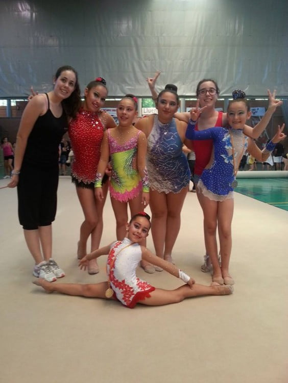 Las gimnastas del CD Montgó se clasifican para el Autonómico