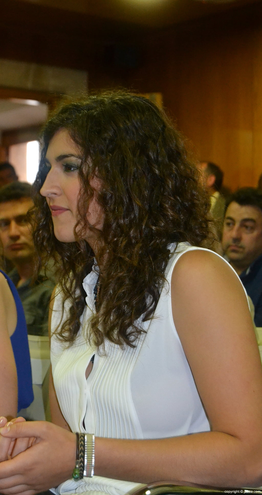 Lucía Andrés Lacueva, primera dama de honor de les Fogueres de Sant Joan 2014 de Xàbia
