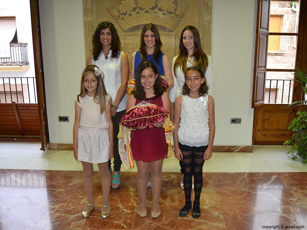 Lucía Andrés, Mar Bisquert, Berta Lucas, Andrea López, Claudia Sánchez y Nerea Mata