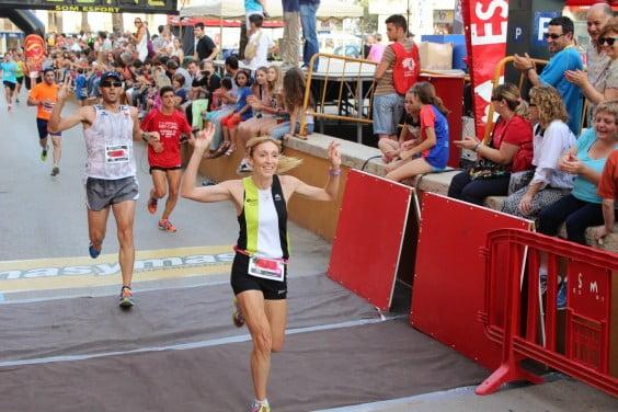 Mª Isabel Ferrer ganadora absoluta femenina en Benissa