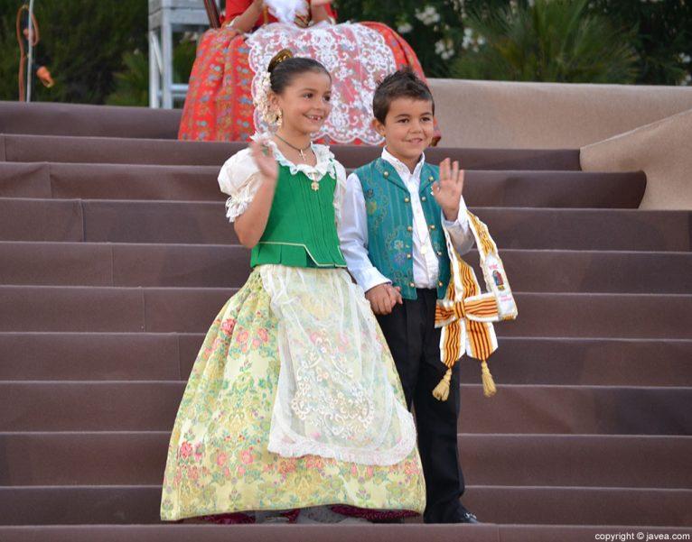 Miembros de la Cort d'Honor Infantil de Fogueres 2014