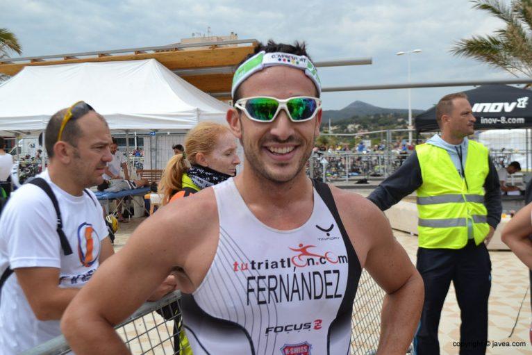 Miguel Fernández ganador en el Triatlón Sprint