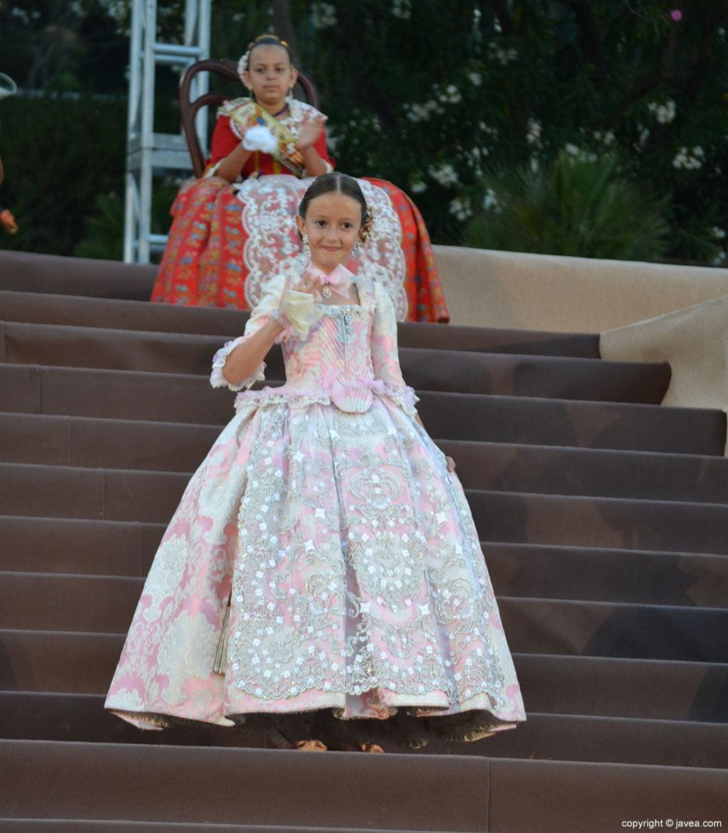Primera dama de honor infantil Andra López Lillo