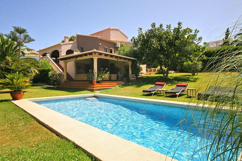 Propiedad de Aguila Rent a Villa, inmobiliaria de Xàbia