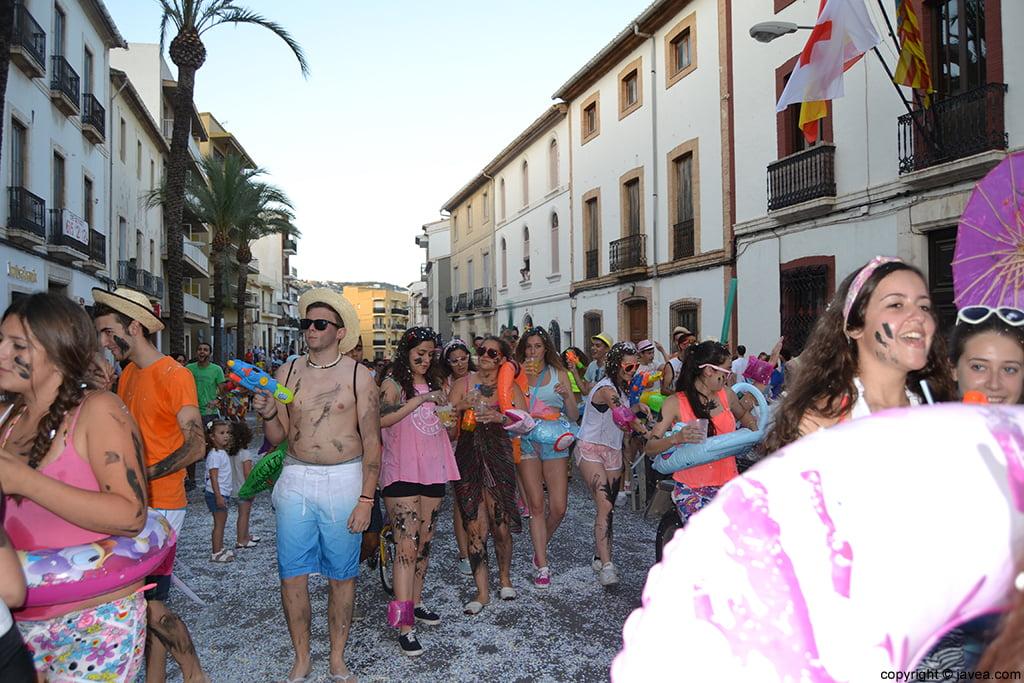 Quintà 2014 en el desfile de peñas