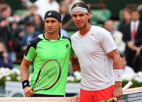 David Ferrer y Rafael Nadal se verán las caras en Roland Garros