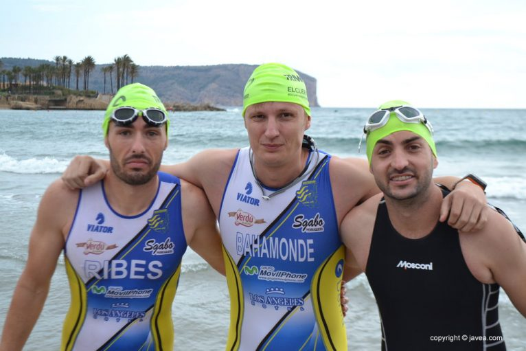 David Ribes, Víctor Bahamonde y jorge Ramis
