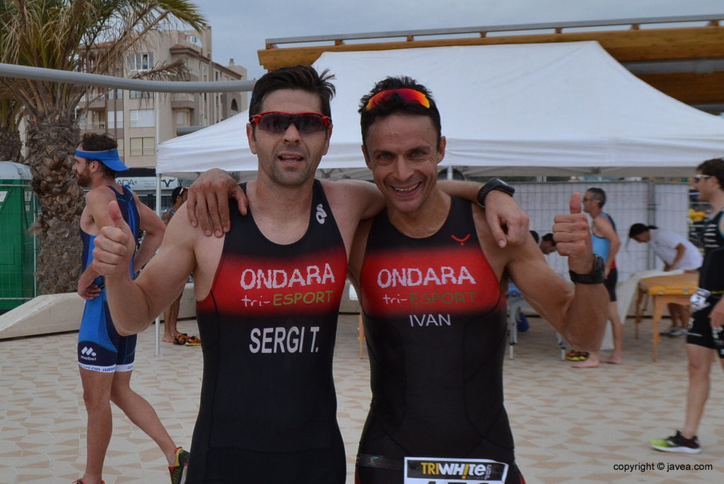 Sergio Torres e Iván Paya del Tri-Ondara