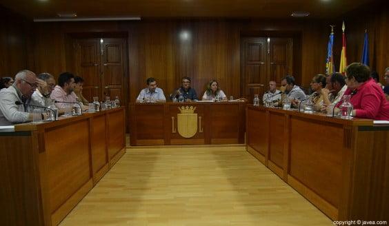 Sesión plenaria del mes de junio en el Ayuntamiento de Xàbia