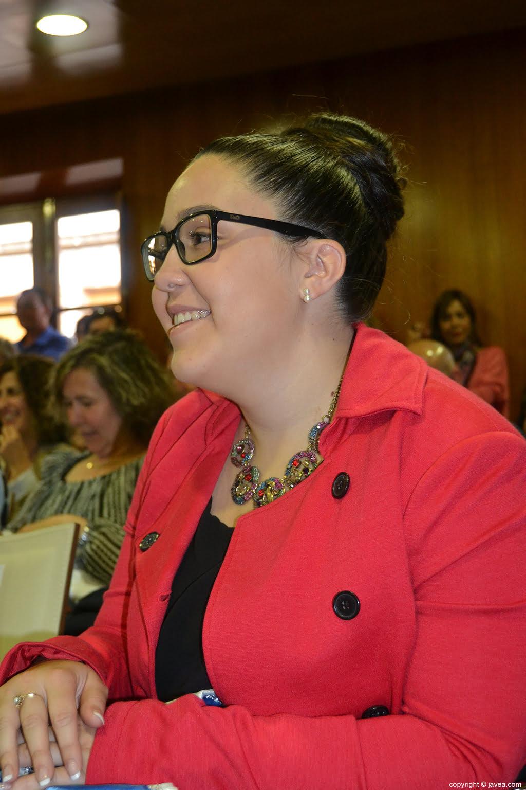 Tatiana Caballero Sánchez, presidenta de les Fogueres de Sant Joan 2014 de Xàbia