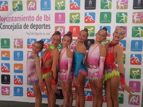 Todas las gimnastas del CD Montgó se clasifican para el Autonómico