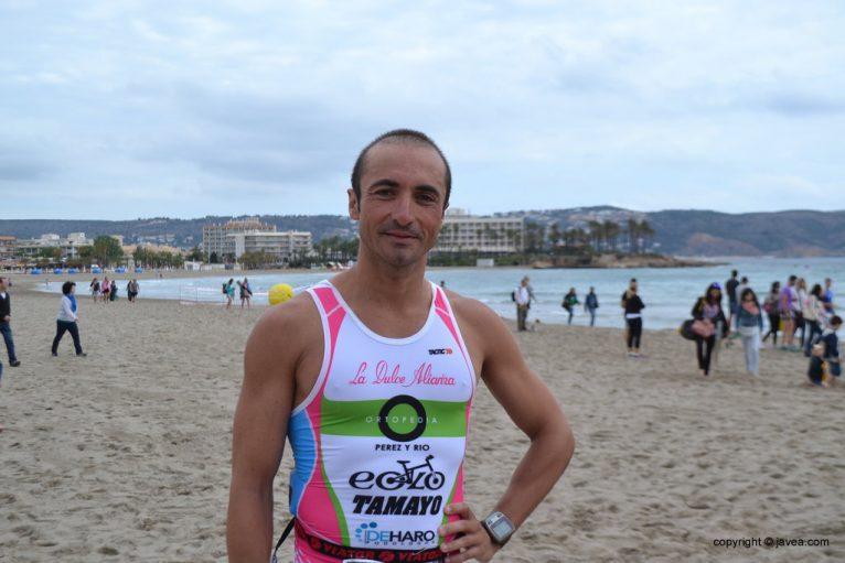 Rubén Rodríguez vencedor modalidad Olímpica
