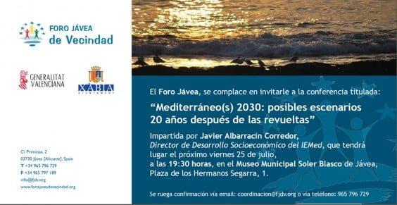Conferencia de Javier Albarracin