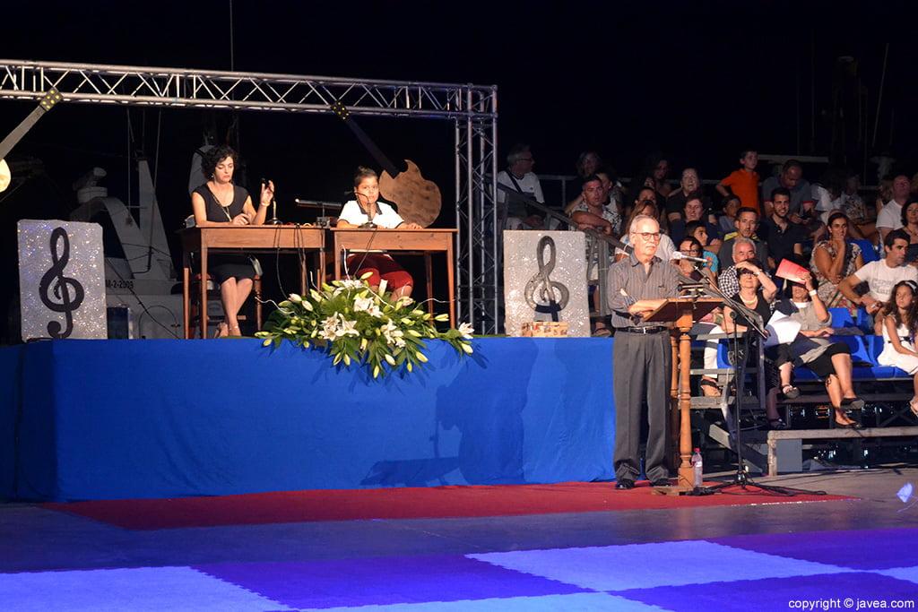 Consuelo Femenía, Javier Steven Sánchez y Vicent Ferrer