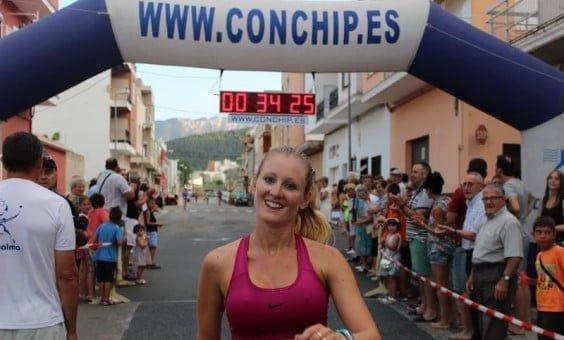 Cristina Roselló vencedora en Palma de Gandía