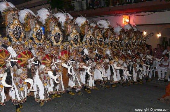 Desfile de gala Moros y Cristianos 2013