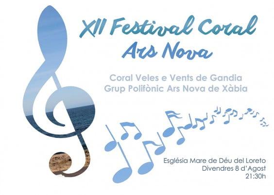 El grup polifònic Ars Nova celebra la XII edición de su festival coral