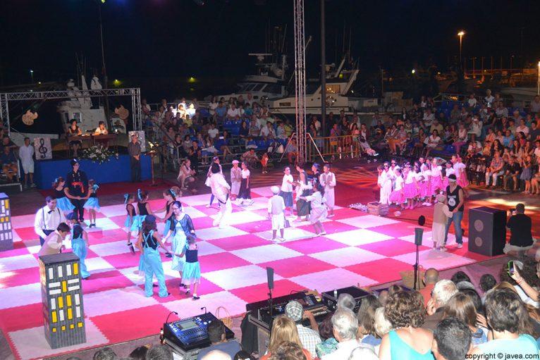 El tablero de ajedrez se convirtió en un escenario para los participantes
