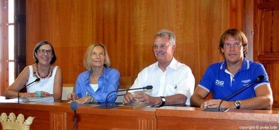 Empar Bolufer, Milagros Lambert, Vicent y Albert García