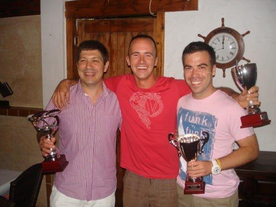 José Antonio García vencedor liga Squash del C.Tenis Jávea
