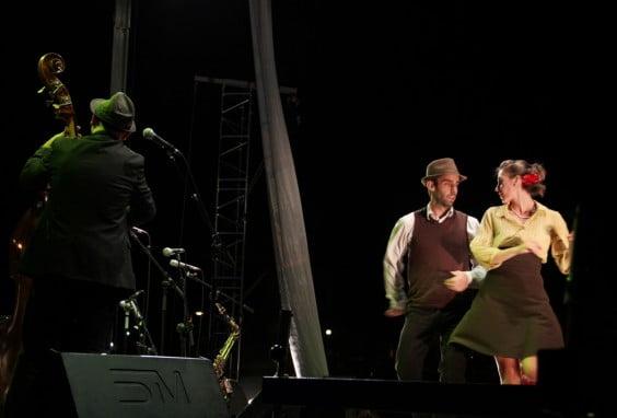 Más de 20 bailarines de swing acompañarán a la Sant Andreu Jazz Band en su concierto