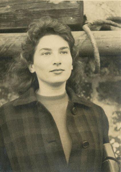 Milagros Lambert hacia 1950