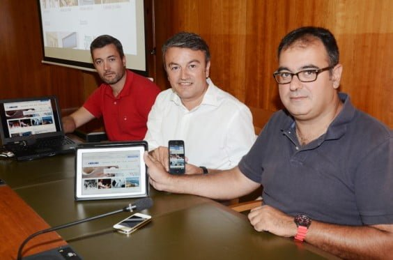 Presentación de la nueva web del ayuntamiento de Jávea