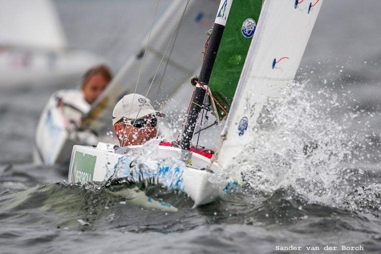 Rafael Andarias en plena regata (2)