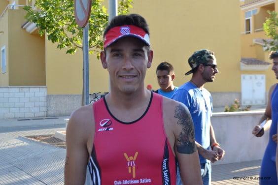 Víctor Froilan fue tercero en la categoría Veteranos A
