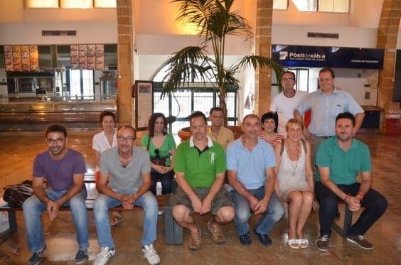 Vendedores del Mercat Municipal