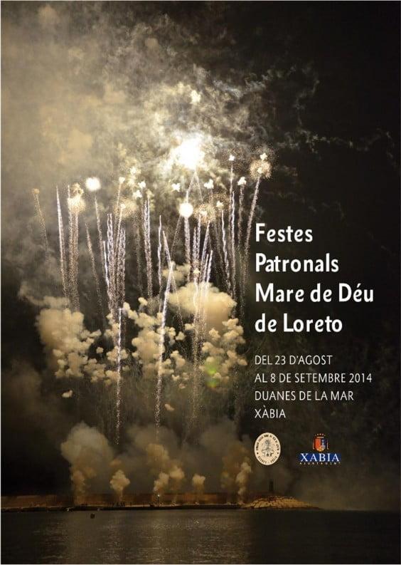 Cartel de las fiestas Mare de Déu de Loreto de Duanes de la Mar 2014