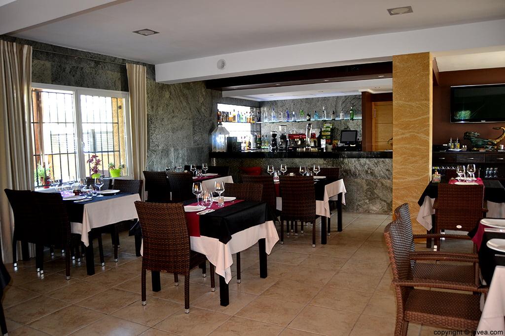 Interior del Restaurante Nesfor en Jávea
