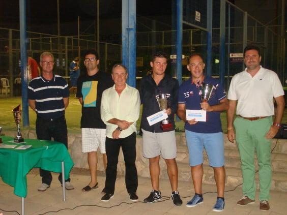Julian Crespo y Alejandro Crespo campeones de dobles en Tenis
