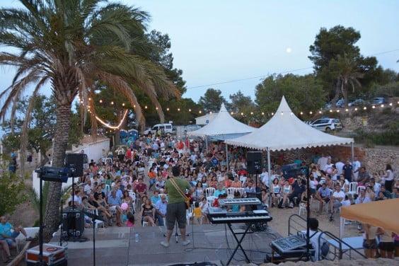 Las fiestas populares del Portitxol reunieron un gran número de vecinos y vecinos de Xàbia