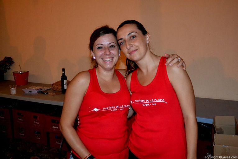 Las mayoralesas Inma Ferrer y Patricia Sart