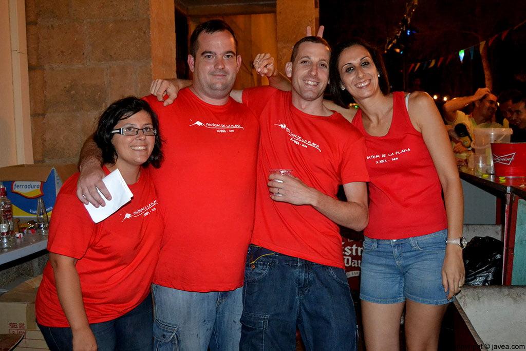 Mayorales de las fiestas de La Plana 2014